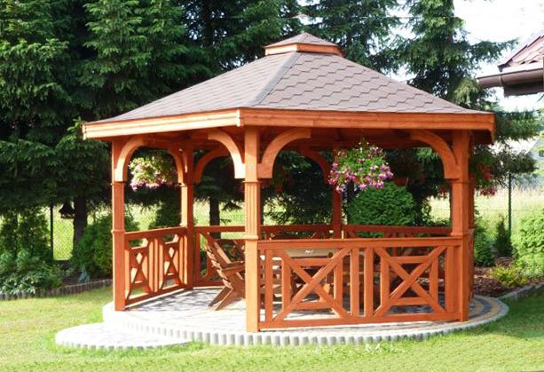 zahradny altanok dreveny altan