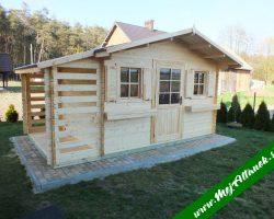 Záhradný domček PULA 5x3m
