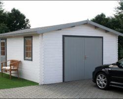 Drevené garáže a prístrešky